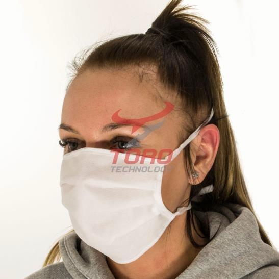 Ochronna Maseczka Maska na twarz trójwarstwowa